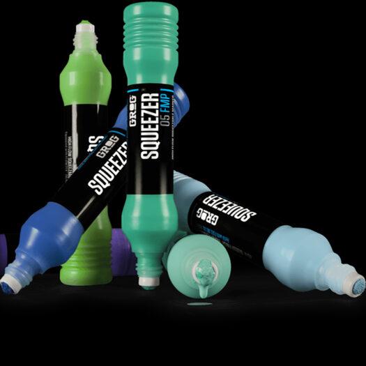 GROG squeezer paint marker 05 FMP groen