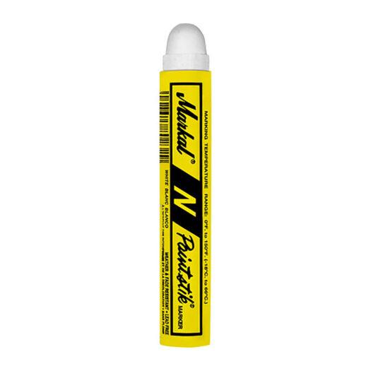 De Markal Paintstik N is niet zichtbaar door een toplaag van primer of een afgewerkte verflaag. De verf formulering is toepasbaar op natte, droge, olieachtige, roestige, ijzige, gladde en ruwe oppervlakken en hierdoor ideaal voor metaalproductie.