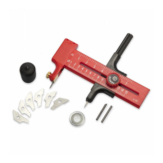 Ecobra cirkelsnijder snijmat cutting mat 770090 voor stencil art sjablonen