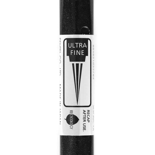 Brush pen pentel voor kalligrafie en brush pen tekening brush pen letters