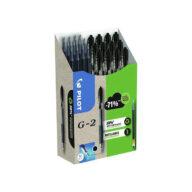 Pilot pen green pack g-2 medium 0,7mm