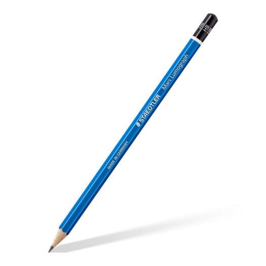 Staedtler Mars Lumograph 100 Potlood tekenen schetsen potloodtekeningen potlood hb en andere hardheid