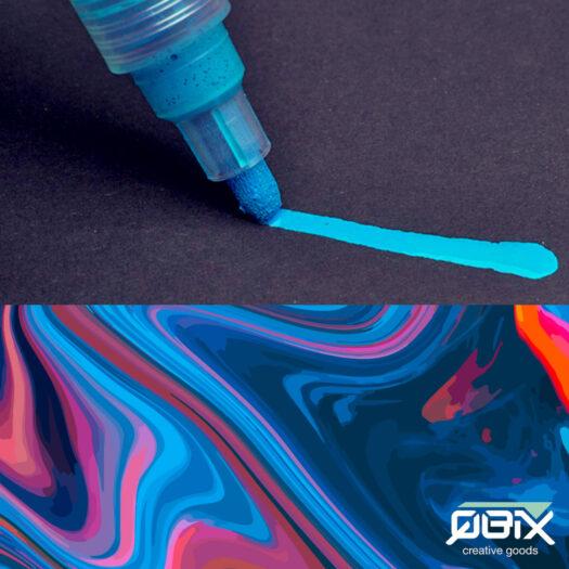 QBIX acryl verfstiften set