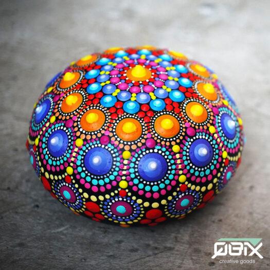 Rock painting stenen schilderen pebble art Rock art