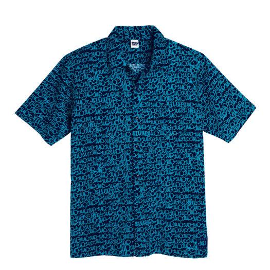 1UP x Lousy Livin shirt OneUp 5.0 - Blauw overhemd heren