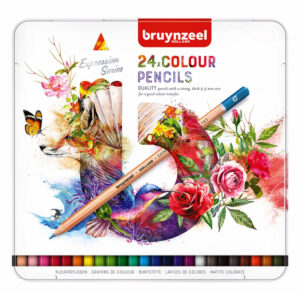kleurpotloden Bruynzeel potloden kopen. Kleurpotloden set in blik van 24 stuks
