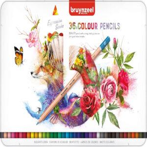 kleurpotloden Bruynzeel potloden kopen. Kleurpotloden set in blik van 36 stuks