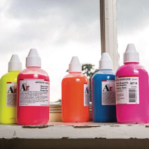 Ara artists acrylverf